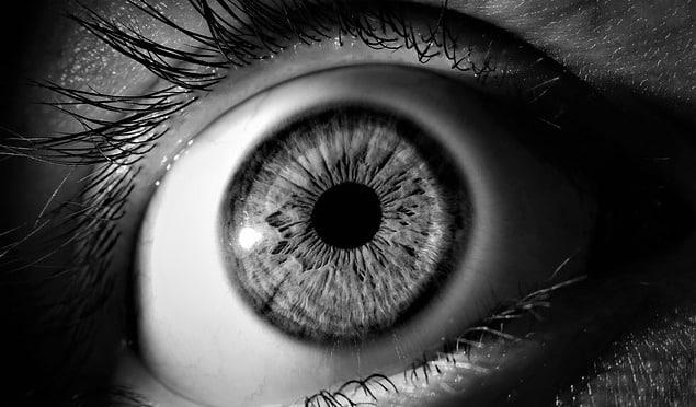Greyscale eye.